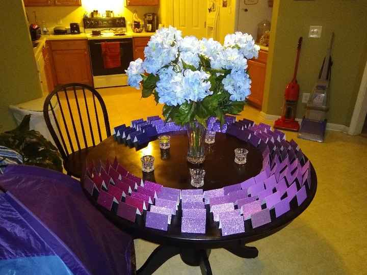 Place Card Table - 1