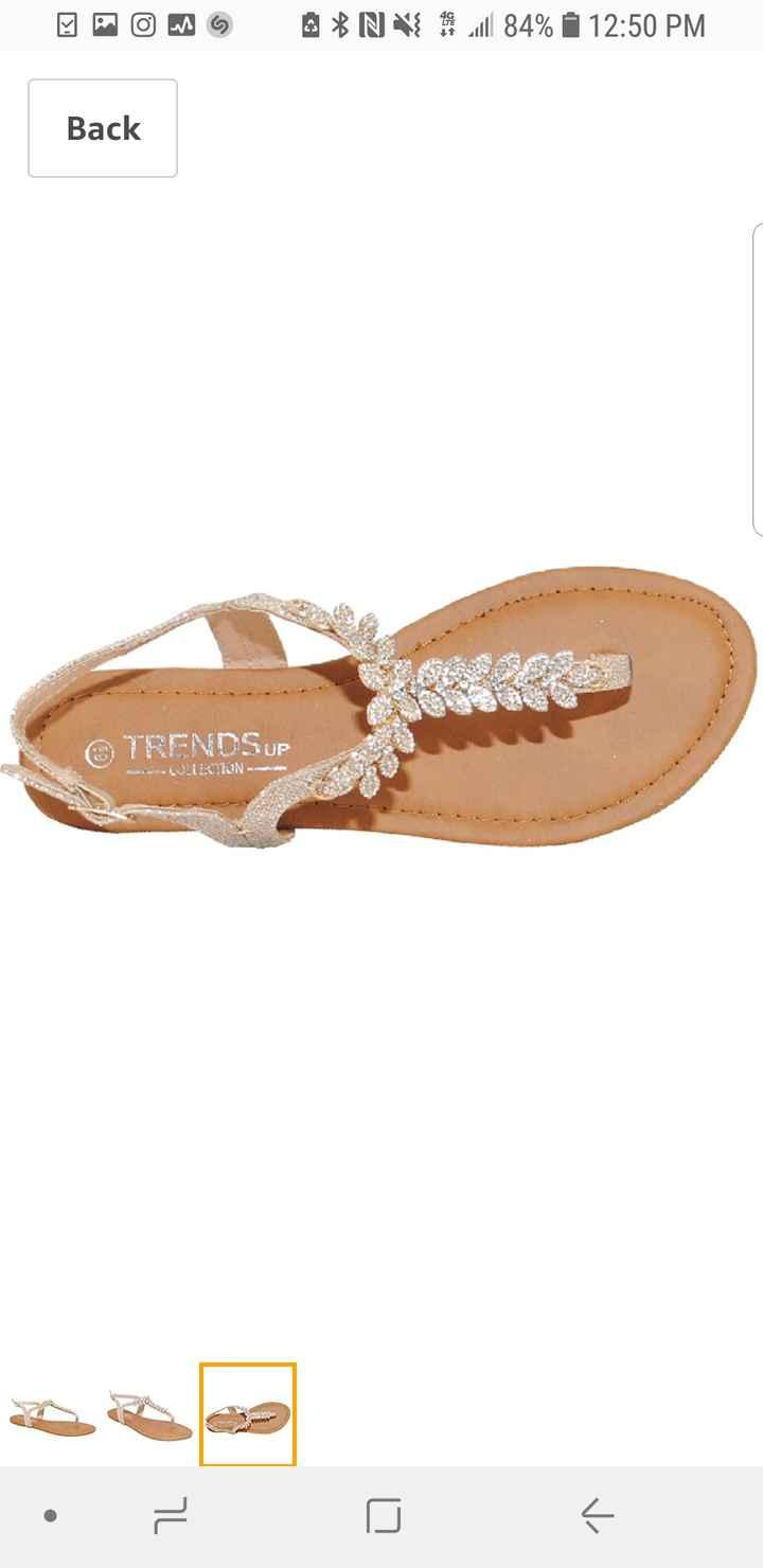 Wedding Sandals - 1
