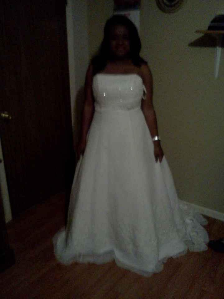 Finally got my dress (pics)