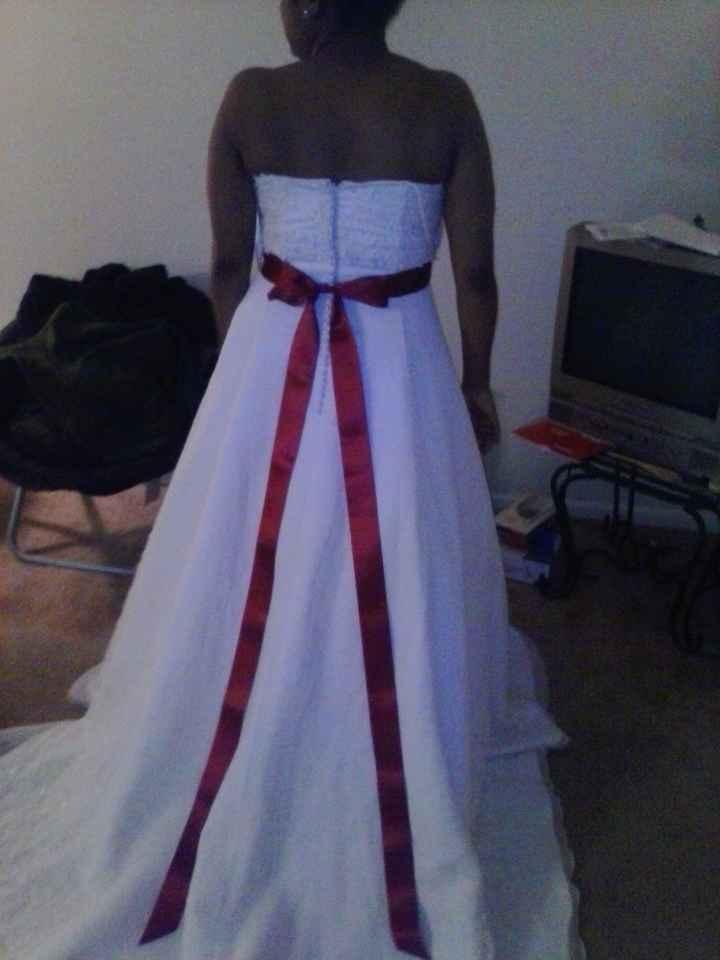 My dress with the sash