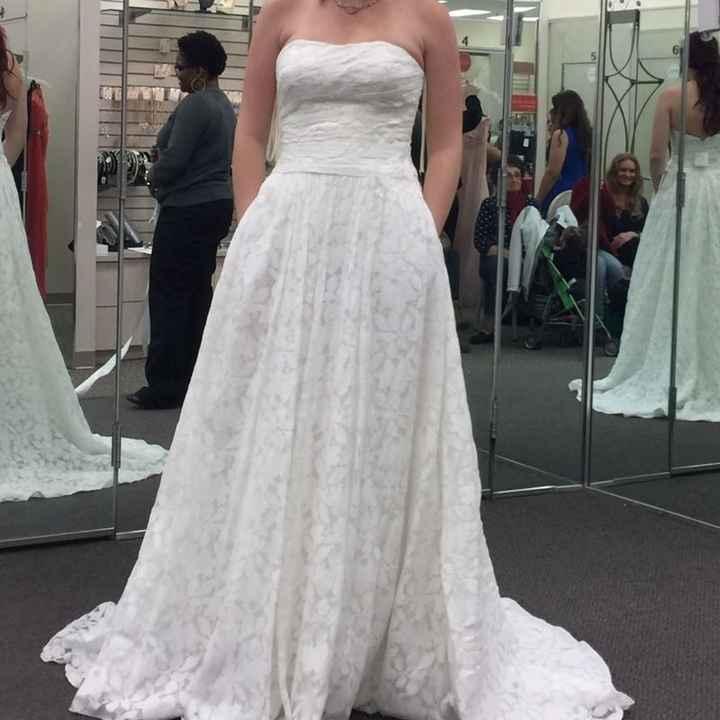 The dresses that didn't make the cut.