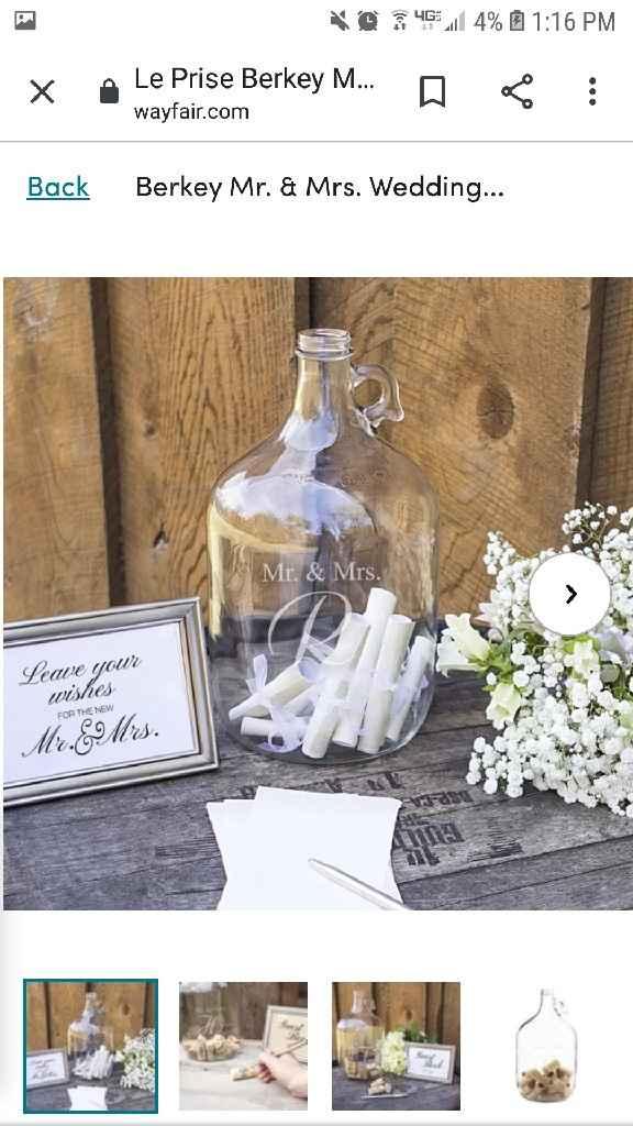 Unique Wedding Guest Books? Show Me Yours! - 2