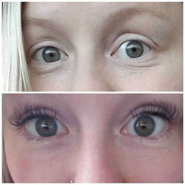 Eyelash extensions - 1