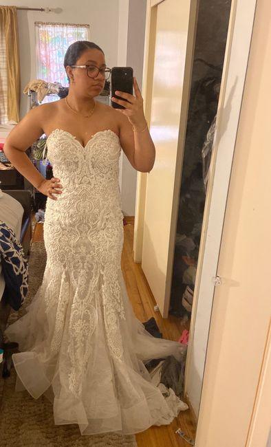 My dress is finally home! 1