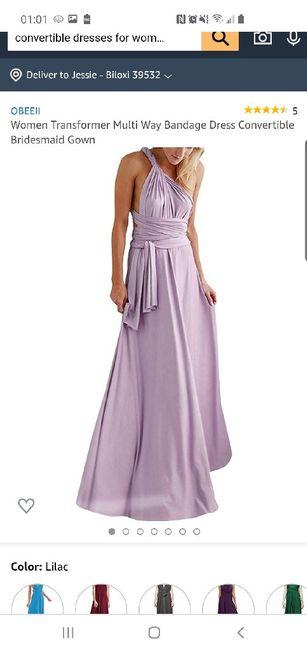 Bridesmaid dress help. 3