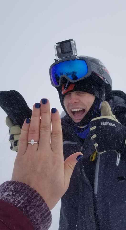 Right after the proposal!