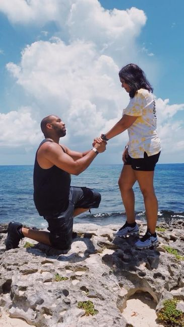Was your proposal caught on camera? Share your proposal pic! 2