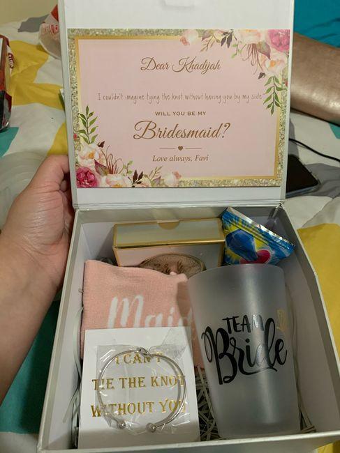 Bridesmaid proposal boxes - 1
