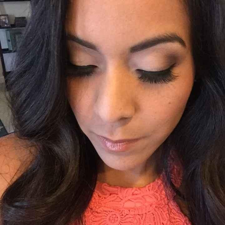 Post your makeup selfie?