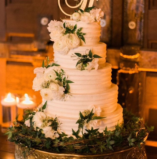 Show me your simple wedding cake