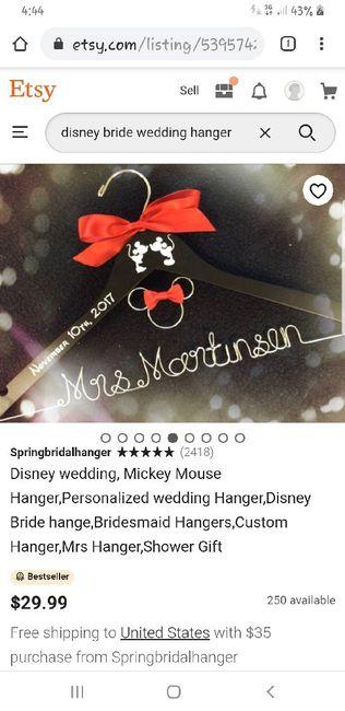 Wedding Dress Hanger 1