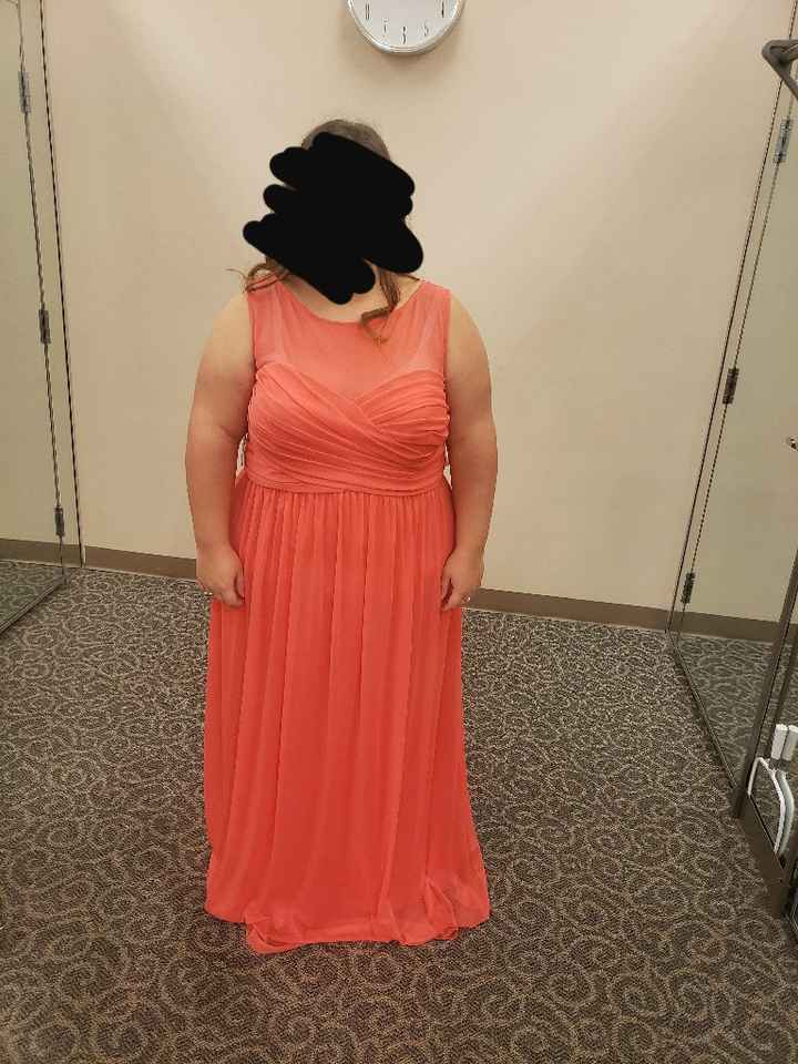 Got bm dresses picked out today! - 1
