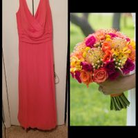 bm dress/flowers - 1