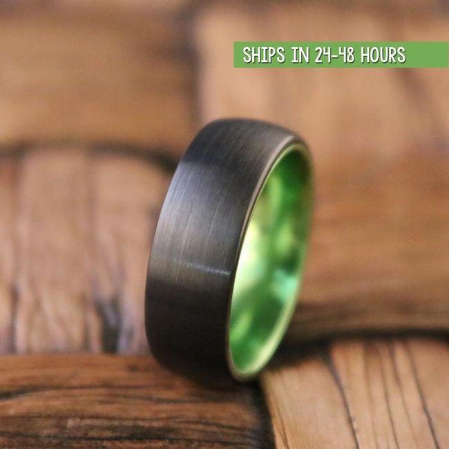 Tungsten wedding bands 1