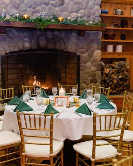 Ceremony decor with (no flowers, no arch) - 7