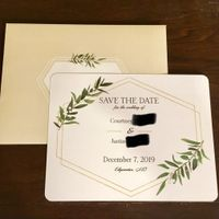 Save the Dates are going out!!! - 1