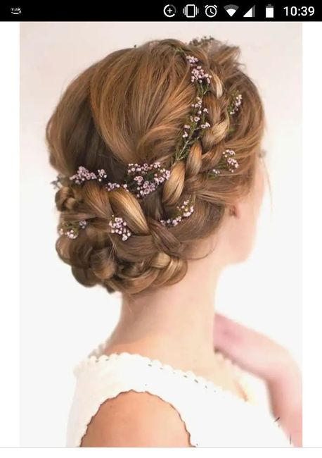 Your wedding hairstyle 8