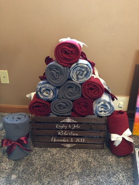Need Blankets For Wedding Favors 5