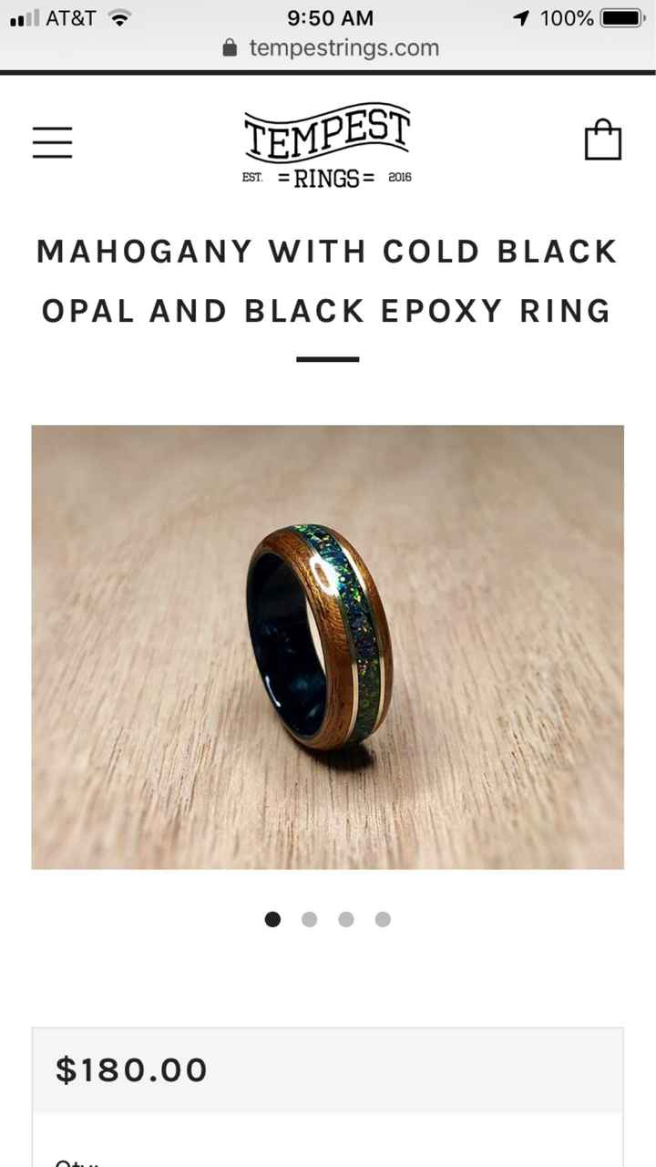 Ring suggestions - 1