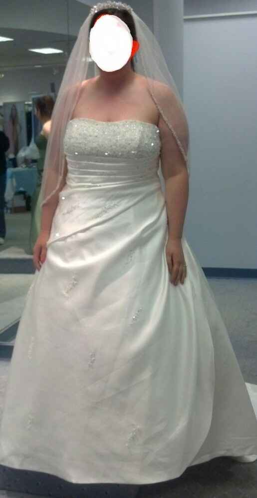 Who added a sweetheart to their dress or changed it w/alterations?