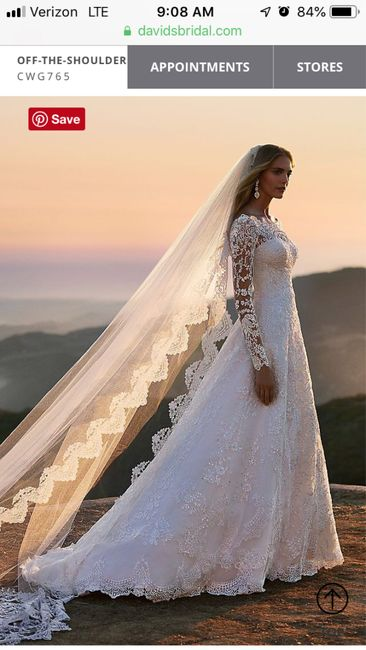 Wedding dress budget - 2