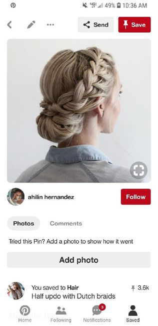 Your wedding hairstyle 11