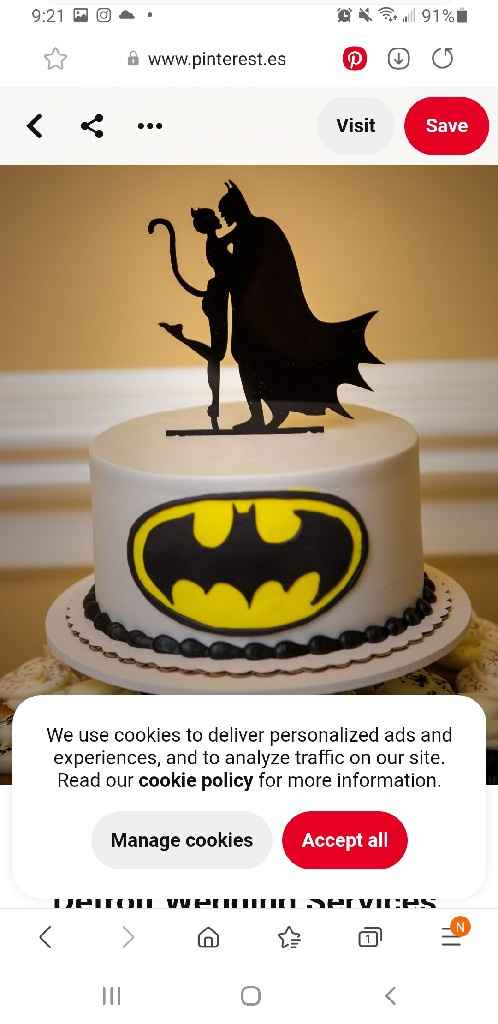 Give me ideas for grooms cake super hero theme Batman or Spiderman - 3