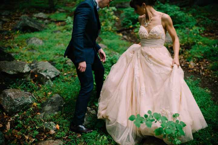 Show me your wedding dresses, and tell me where they are from,and the cost? :)