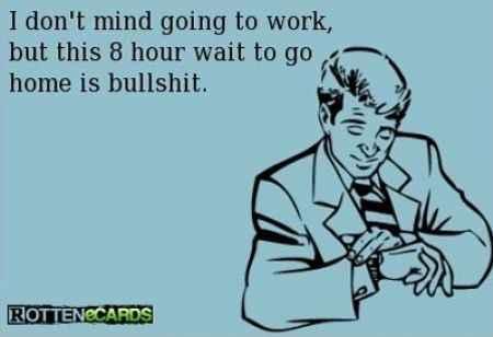 It feels like it should be way later in the week....