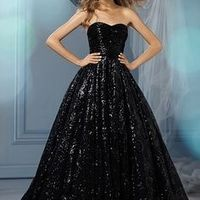 Which Halloween-themed wedding dress?