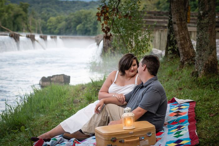 My engagement photos are done *warning there is alot of them* lol 7