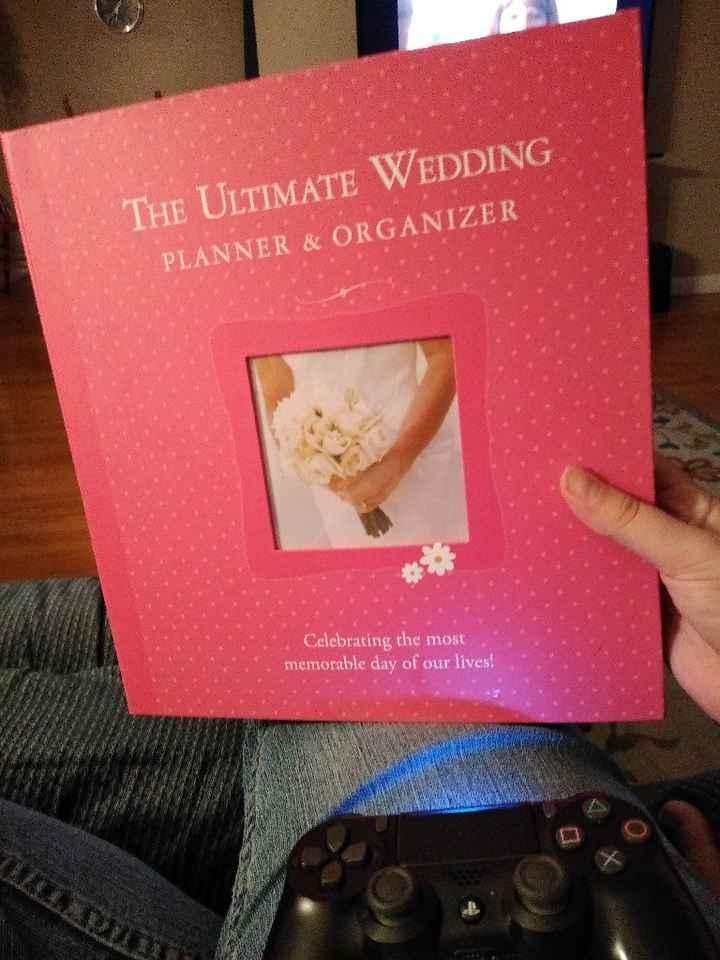 Got my planner book!! - 1