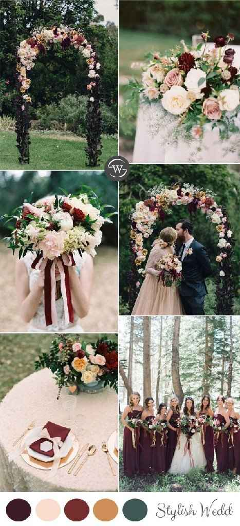 Planning Milestones - Picking your wedding colors! - 1