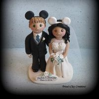 Just got our cake topper... - 1