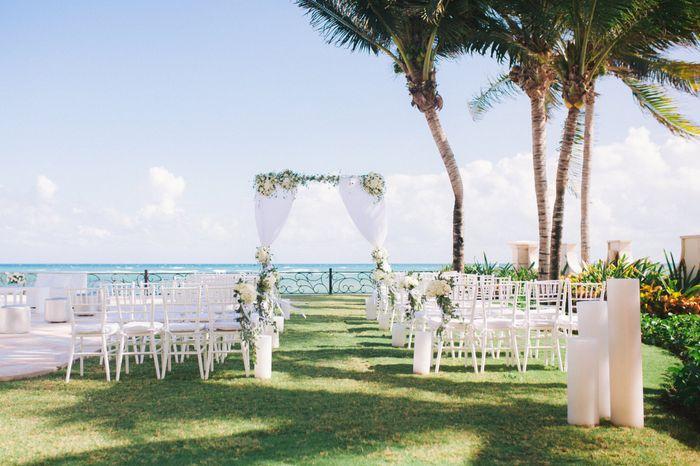 Outside wedding 1