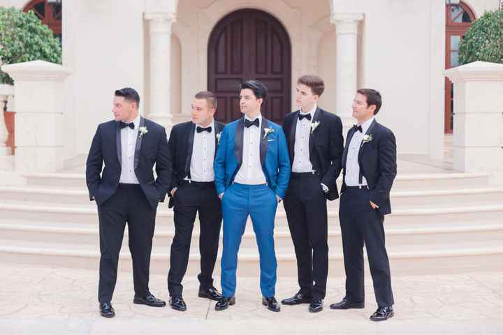 Groomsmen Attire - Matching or Mixing It Up? - 2