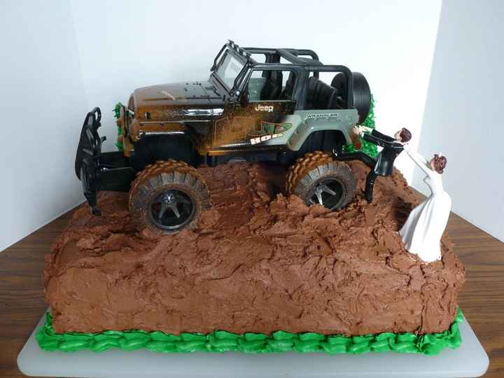 jeep cake