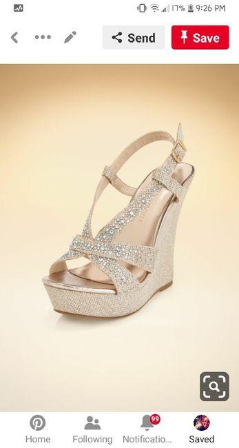 Petite brides - show me your shoes. 9