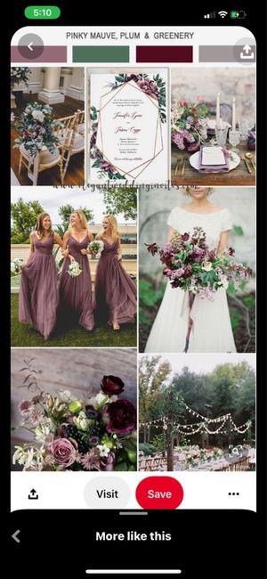 Wedding color theme 5