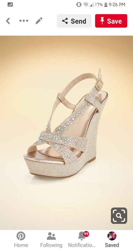 Petite brides - show me your shoes. - 1