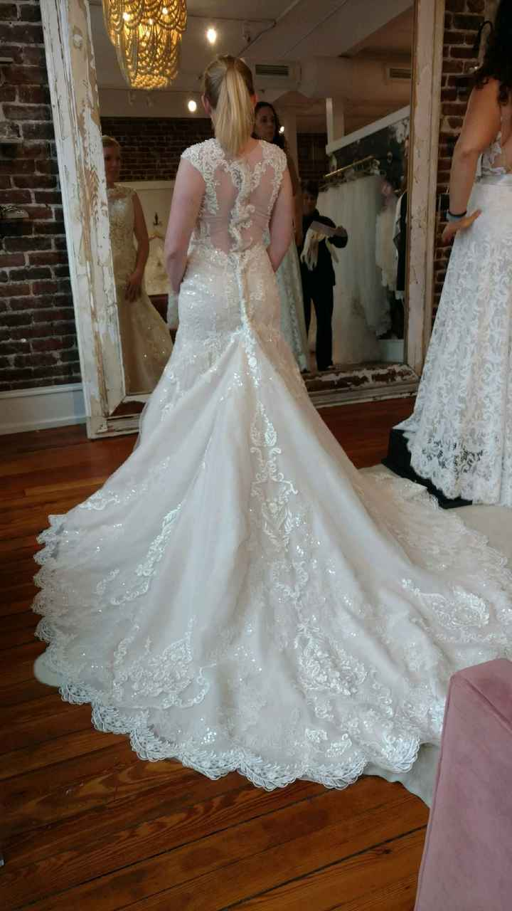 Show your wedding dresses - 1