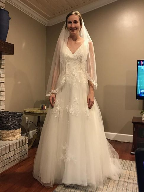 My Wedding dress!! Now let me see yours!! 4