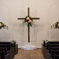 Chapel decorated