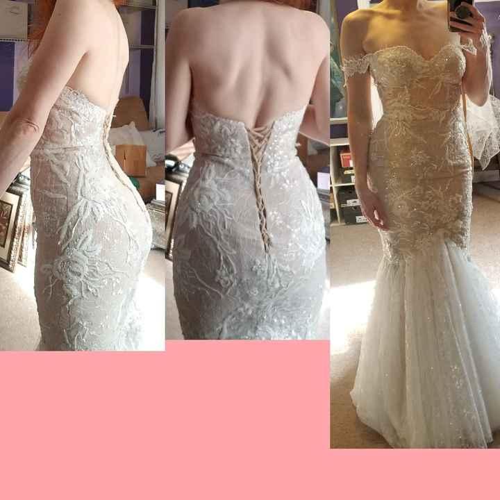 Lumpy waist in dress - 1