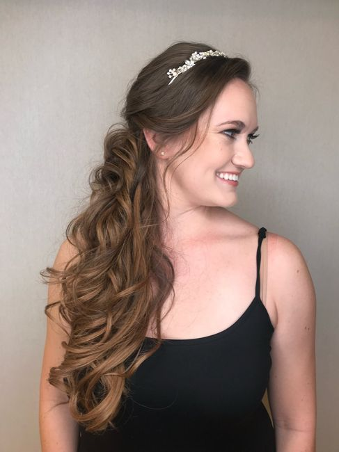 Where did you get your hair extensions for the wedding? 5