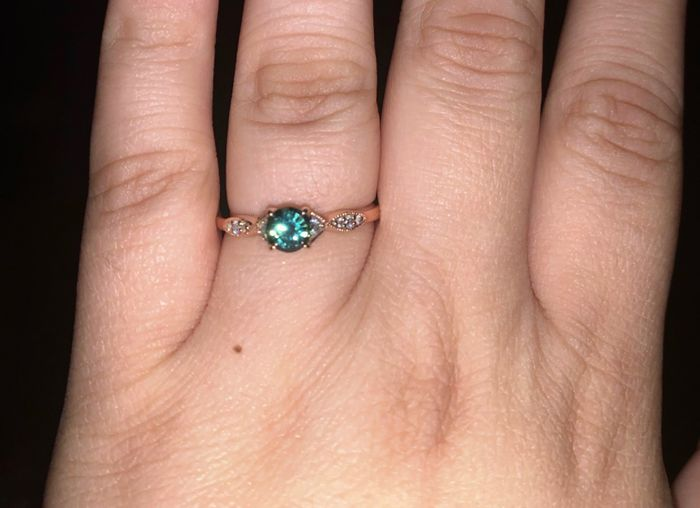 Engagement Rings with colored gemstones 4