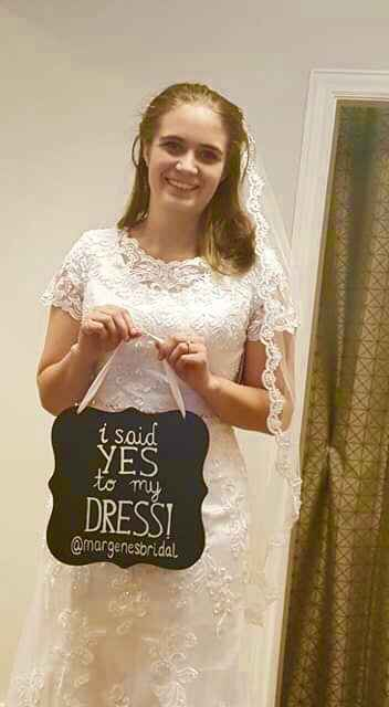 Did you say yes to the dress? - 1