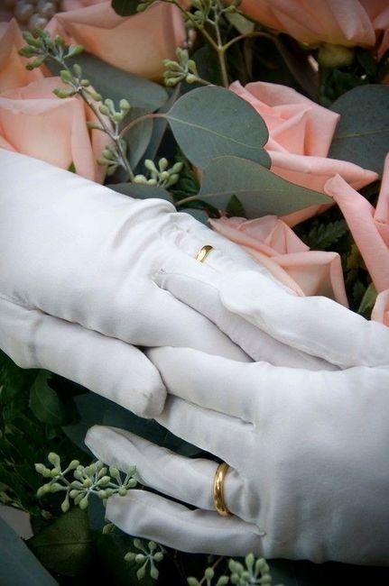 Rings over gloves? 1
