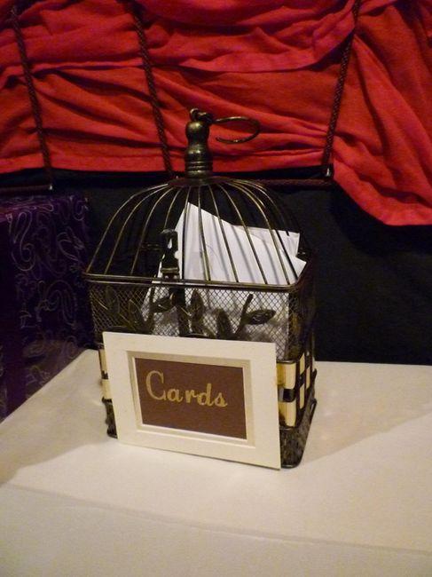 Locked/enclosed Card Box? 3
