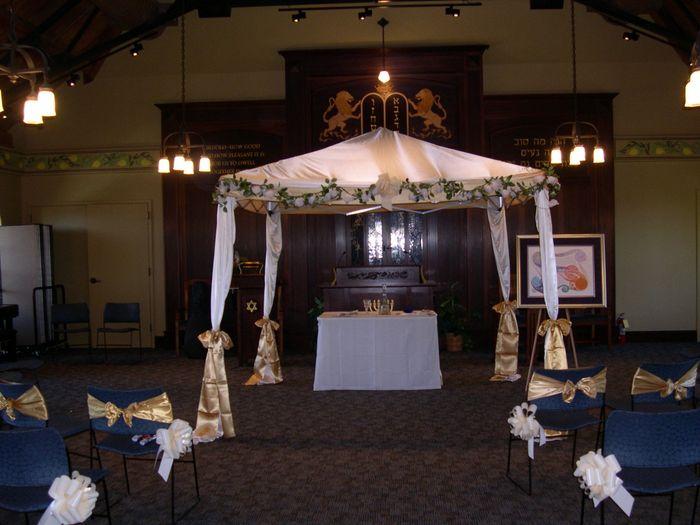 Ceremony arch 1